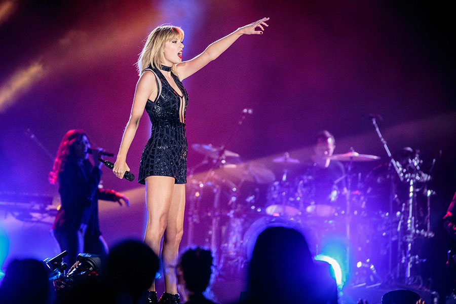 La cantante Taylor Swift. AFP/END