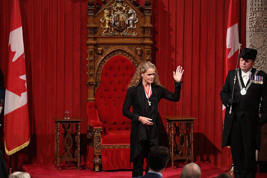 Julie Payette. AFP/END
