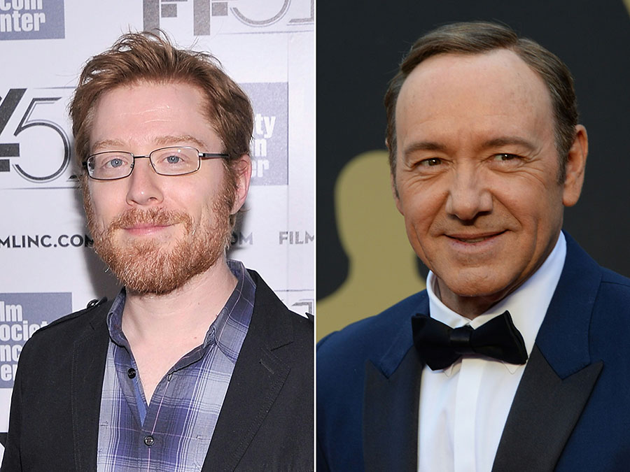 Anthony Rapp y Kevin Spacey. AFP/END