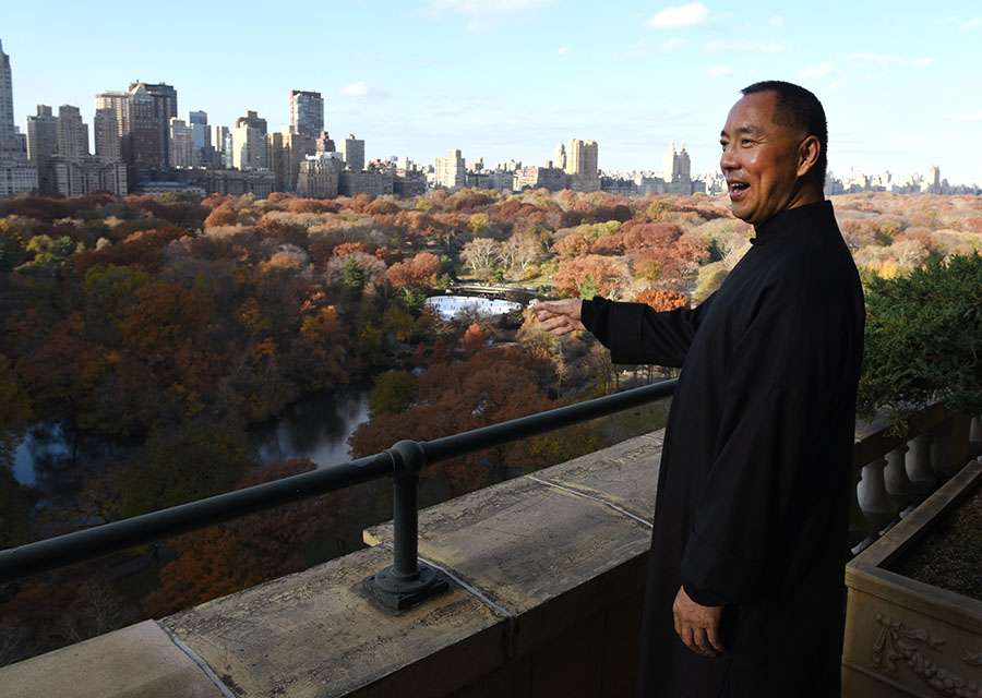 Guo Wengui vive en Nueva York y demanda democracia en su natal China. AFP/END
