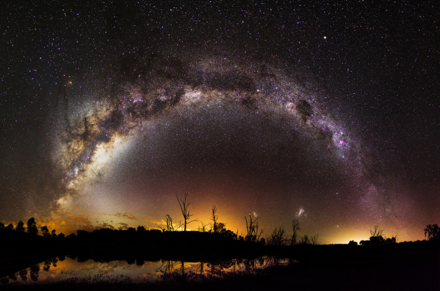 """Milky Way Over Harvey Dam, Western Australia"" by inefekt69"