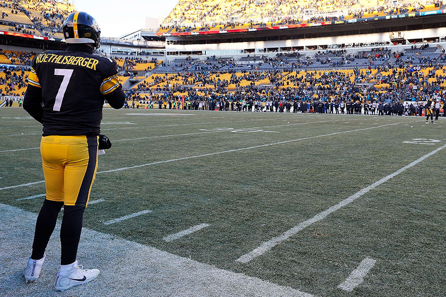 Ben Roethlisberger no podrá enfrentar a Tom Brady. AFP/END