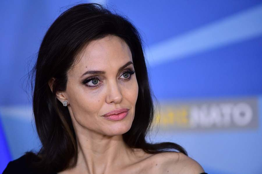 Angelina Jolie sella acuerdo contra violencia sexual./AFP