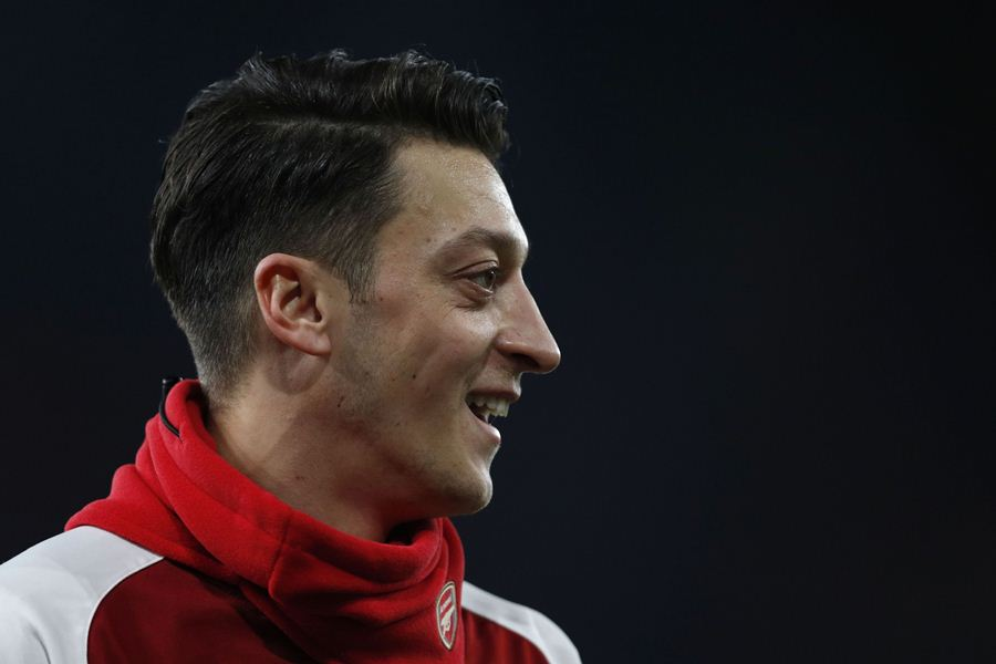 Özil llegó al Arsenal procedente del Real Madrid. Foto: AFP/END