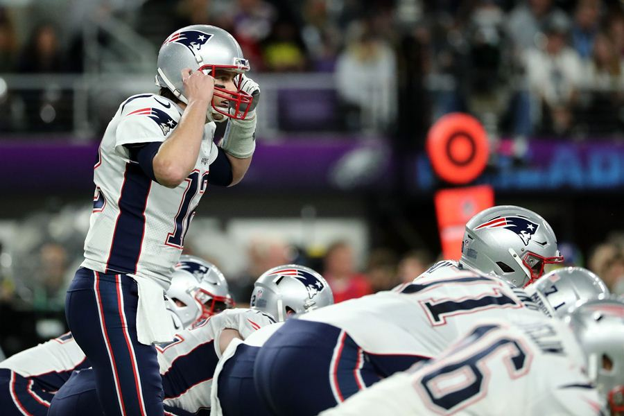 Los ultra favoritos, Patriots, perdieorn el super bowl. EFE/END