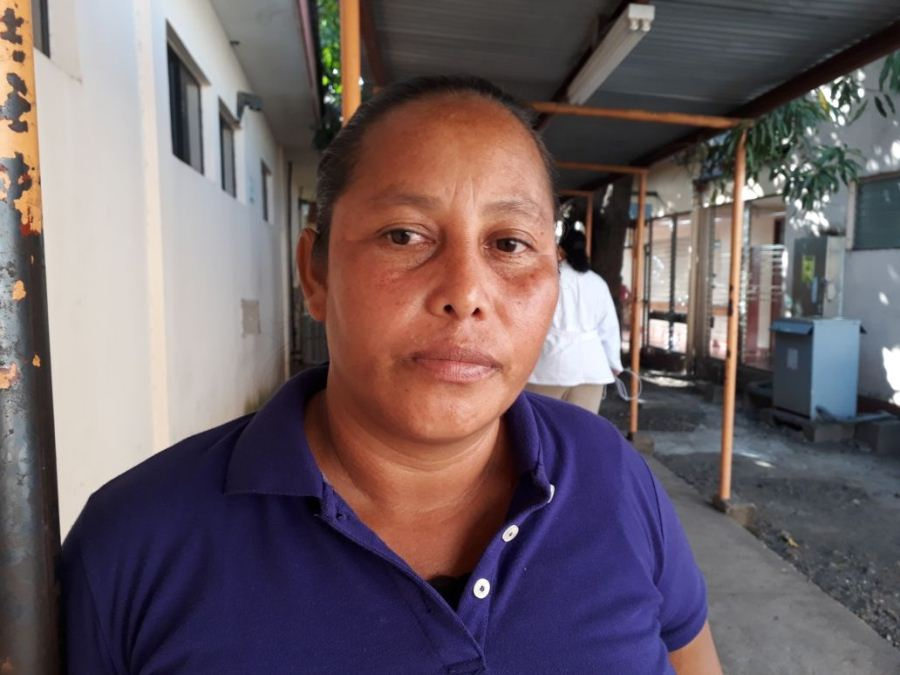 Marlene Pineda, hermana de Mayela. Mercedes Sequeira/END