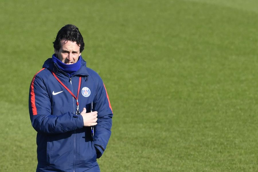 Unai Emery, entrenador del París Saint Germain. Foto: AFP/END