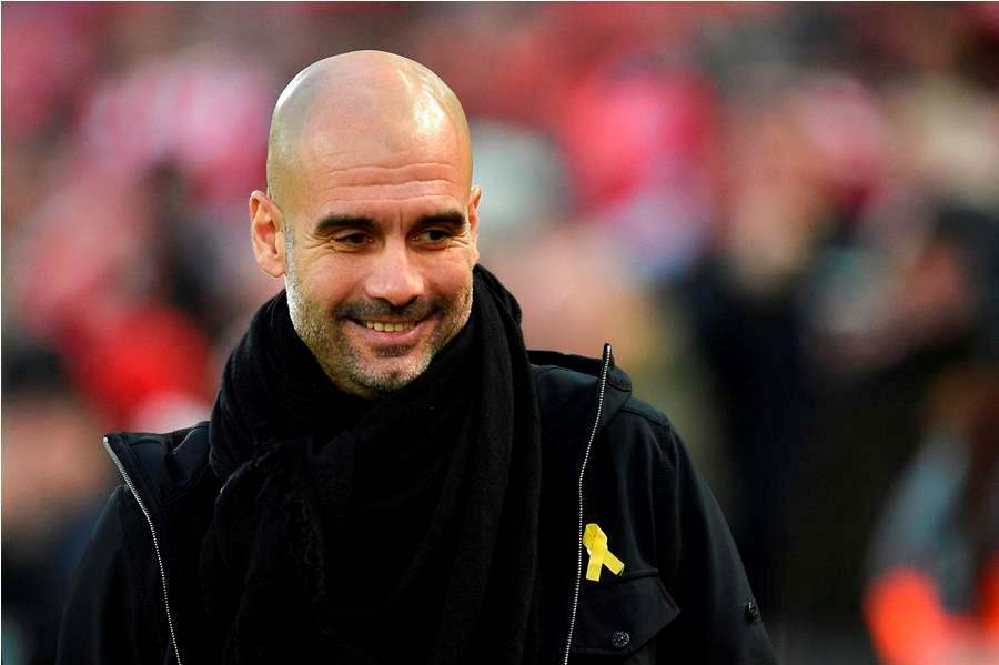 Pep Guardiola, entrenador del Mánchester City. Foto: AFP/END