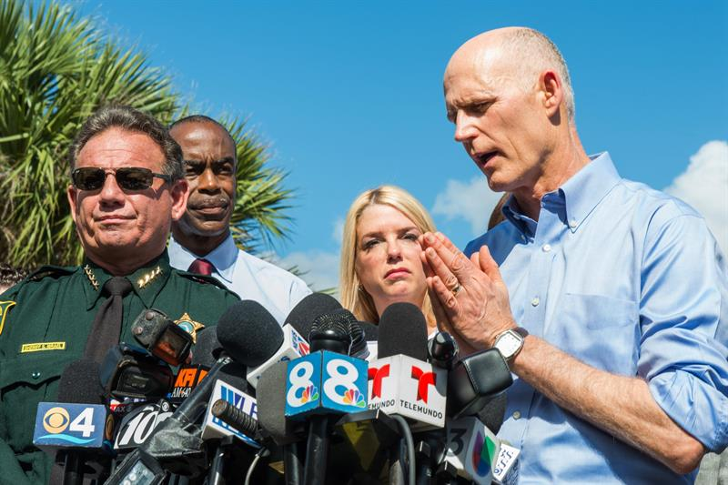 Rick Scott, gobernador de Florida. Archivo/END
