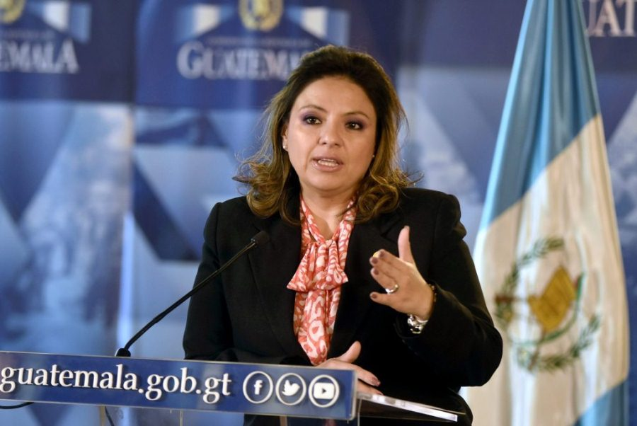 Canciller de Guatemala, Sandra Jovel.  Cortesia/END