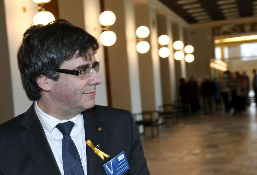 Carles Puigdemont, lider independentista catalán. Foto: AFP/END
