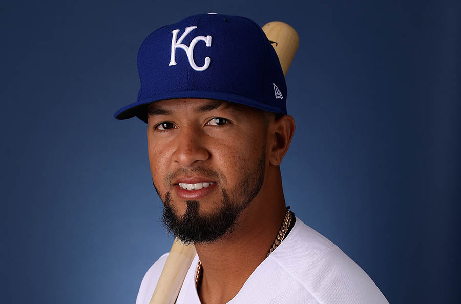 22  imparables en 54 turnos al bate acumula Cheslor Cuthbert en la actual pretemporada con los Reales de Kansas City. Archivo/END