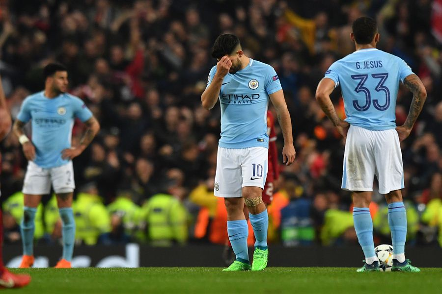 El City perdió 5-1 en el marcador global. Foto: AFP/END