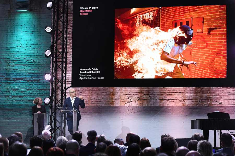 La foto fue premiada como la Mejor Foto del Año del prestigioso certamen World Press Photo (WPP). Foto: AFP/END
