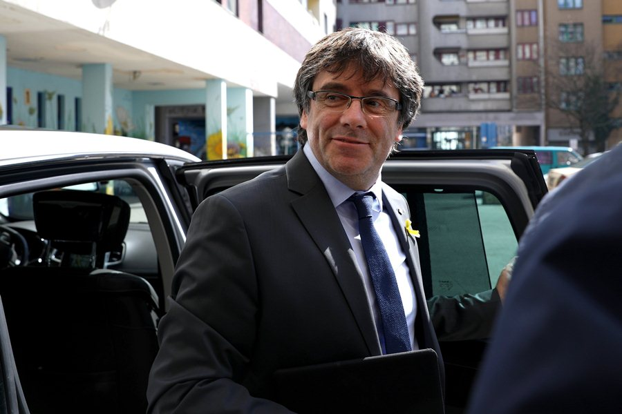 Carles Puigdemont, líder independentista catalán. Foto: Archivo/END
