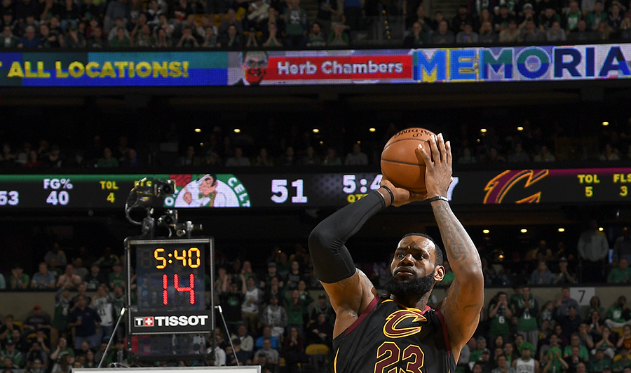 La estrella de los Cavaliers, LeBron James Archivivo/END
