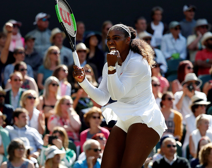 Serena Williams, tenista estadounidense. EFE/END