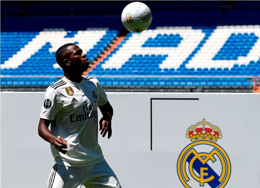 Vinicius Junior, fichado por el Real Madrid. Foto: AFP/END