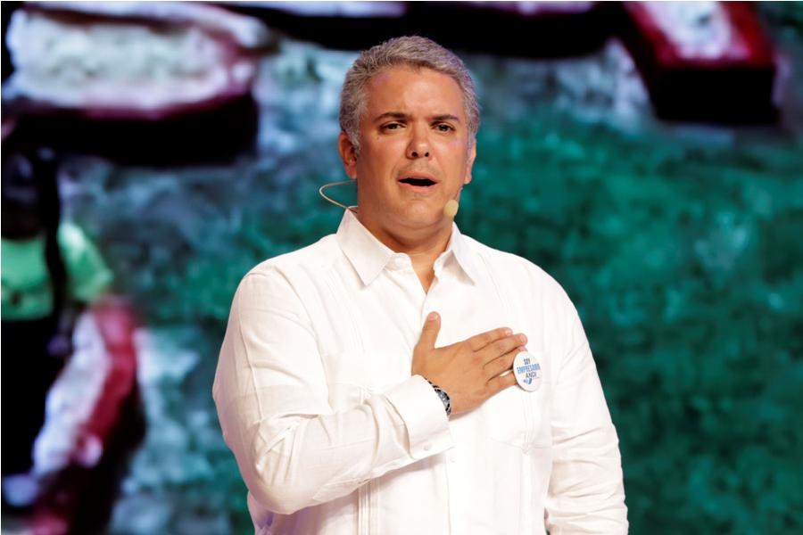 Iván Duque, presidente colombiano