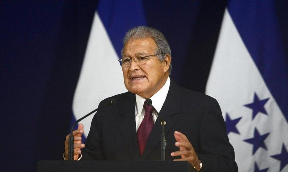 Salvador Sánchez Ceren, presidente de El Salvador. END/ARCHIVO.