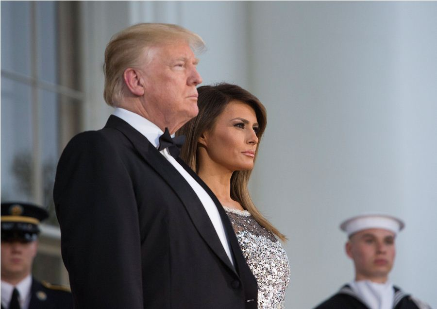 Melania y Donald Trump. END/ARCHIVO.
