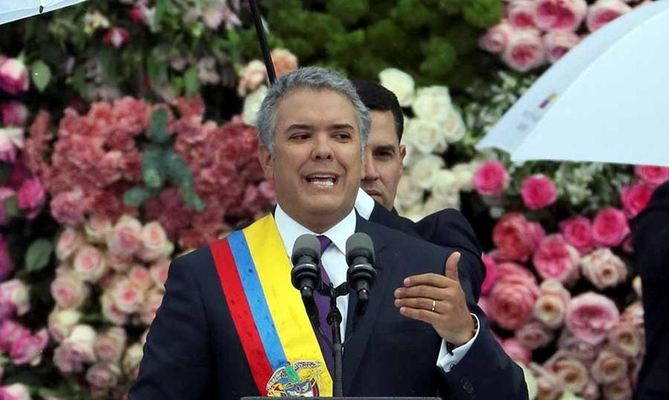 Iván Duque, presidente de Colombia. END/ARCHIVO.