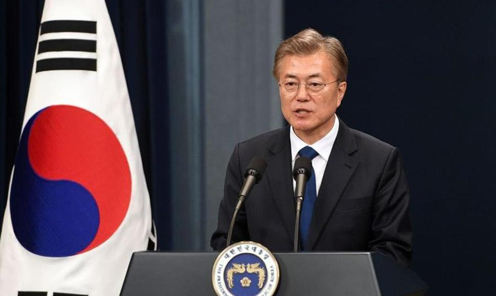 Moon Jae-in, líder surcoreano. ARCHIVO/END.