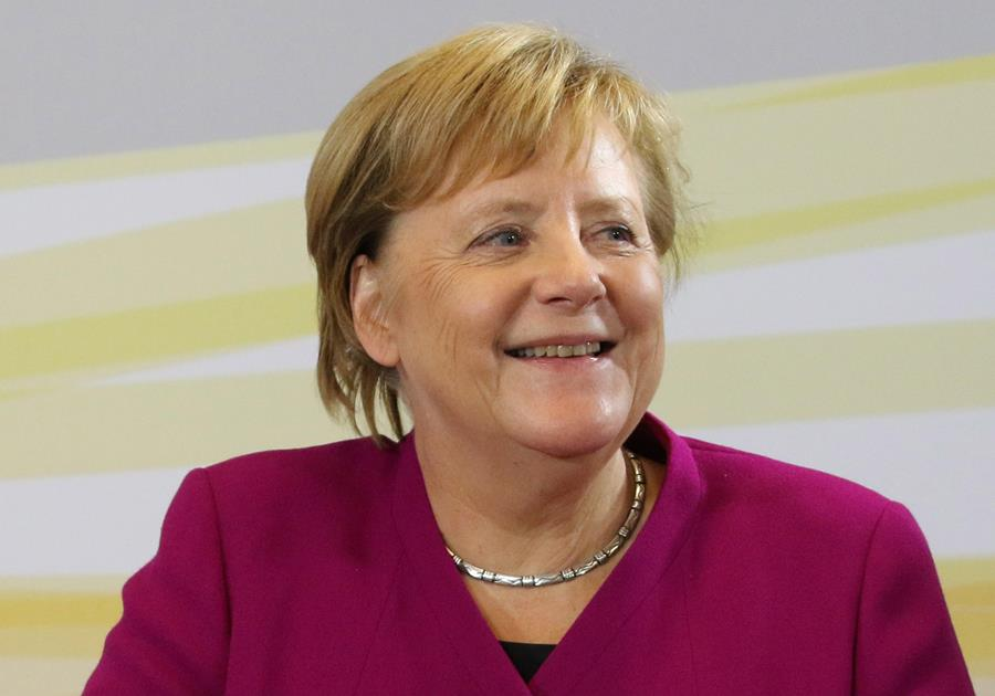 Angela Merkel, canciller alemana. EFE/END.