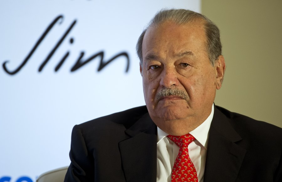 Carlos Slim, empresario mexicano. Archivo/END