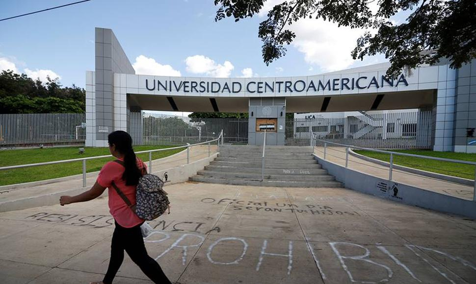 Universidad Centroamericana (UCA). Archivo/ END
