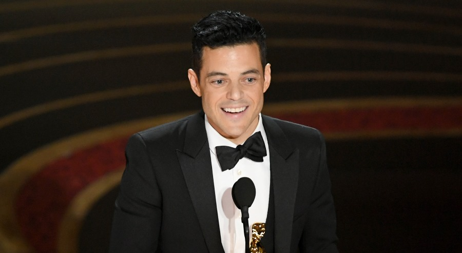 Rami Malek, mejor actor. AFP/END