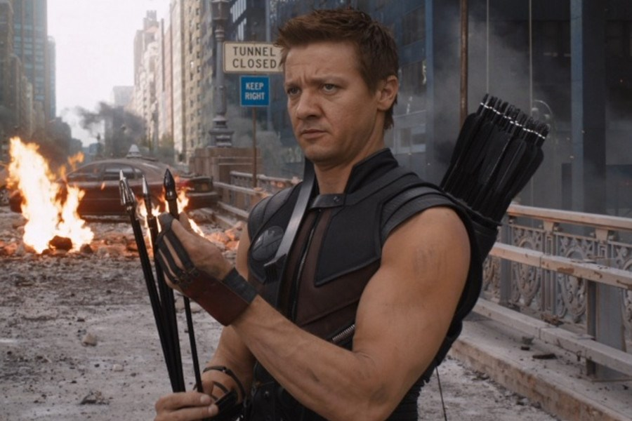 Jeremy Renner, actor. Cortesía/END