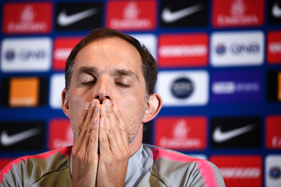 Thomas Tuchel, DT del PSG. AFP/END