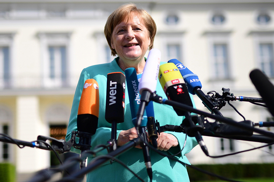 Angela Merkel, canciller alemana. EFE/END
