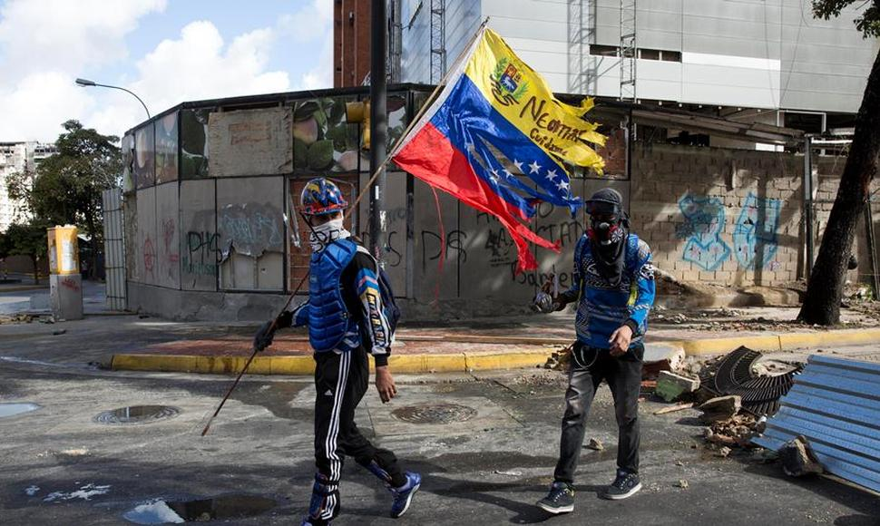 Protestas en Venezuela. ARCHIVO/END.