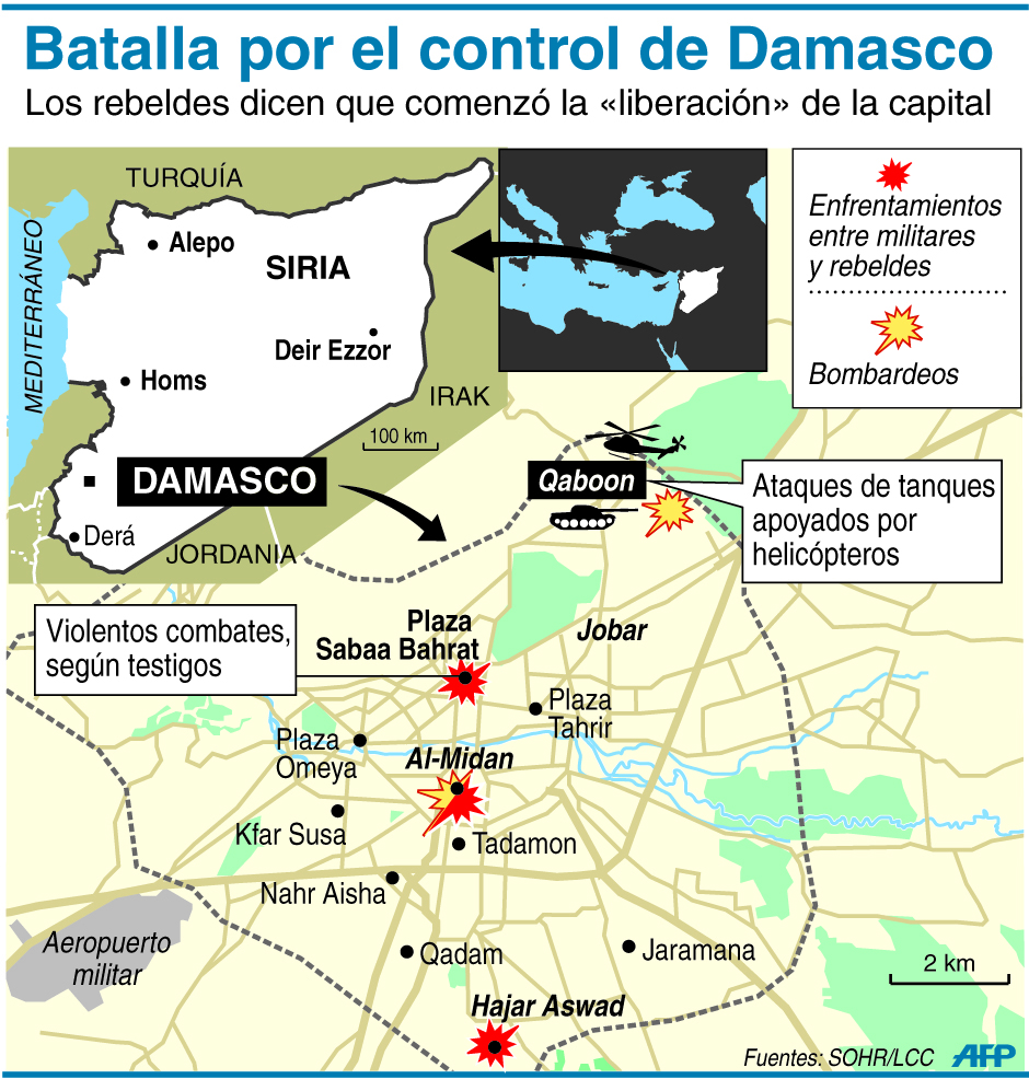 Batalla por Damasco