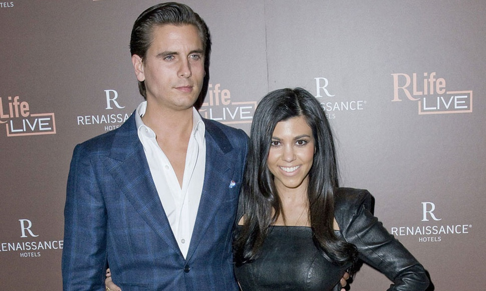 Scott Disick y Kourtney Kardashian.