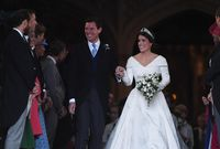 Princesa Eugenia y Jack Brooksbank se casan en el castillo de Windsor
