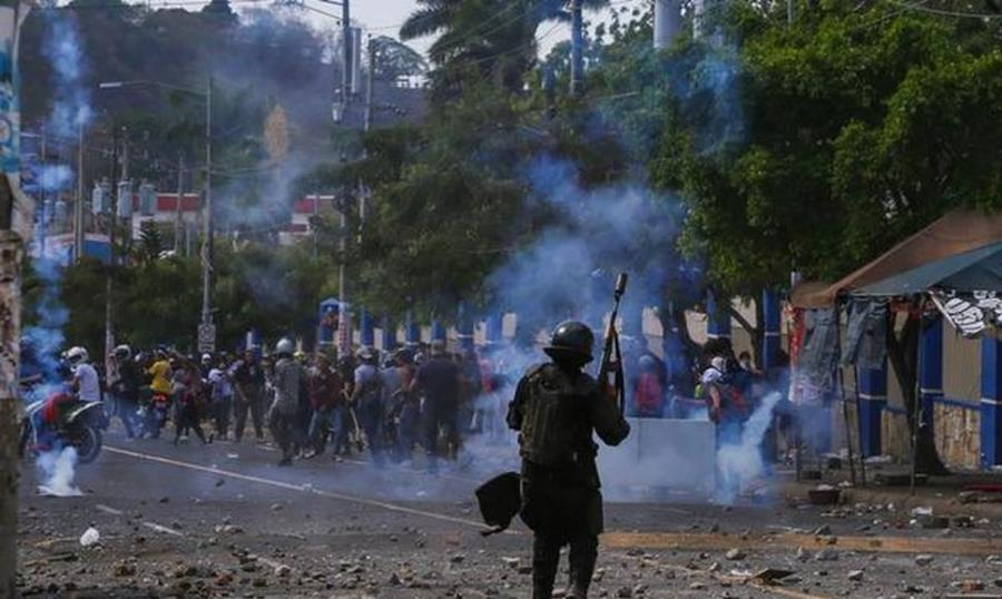 This negative trend so far this year is a reflection of the socio-political crisis that Nicaragua has faced for four months.