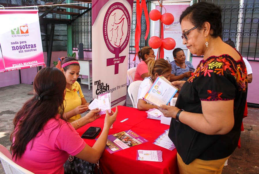 Women of different ages came to get information about ways to prevent HIV. Alexander Perez / END