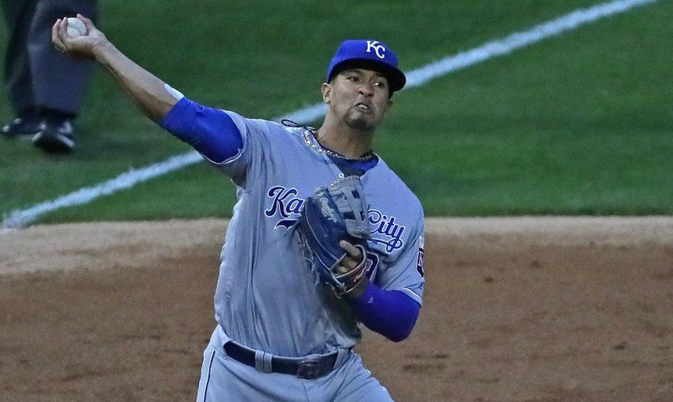 Cheslor Cuthbert, pelotero nicaragüense que juega con Kansas City. Archivo/END