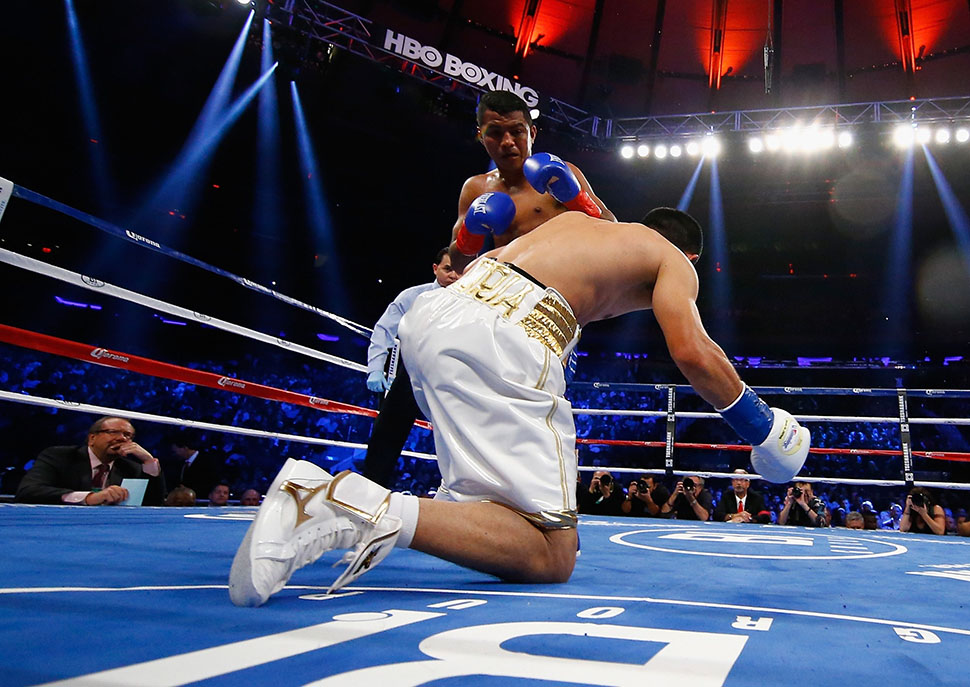 "El ""Chocolatito"" agitó el Madison"