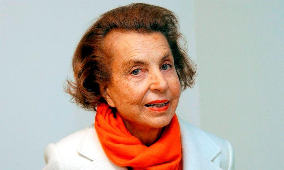 Liliane Bettencourt, heredera de L'Oréal.