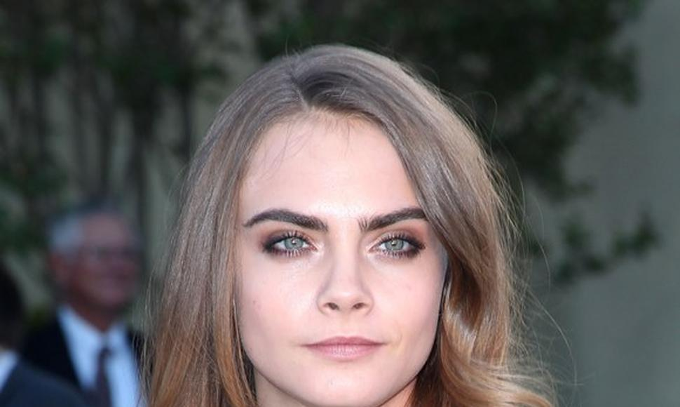 Cara Delevingne, top model.