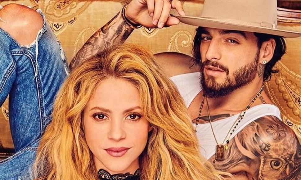 Shakira y Maluma encienden las redes con el video de Clandestino — YouTube