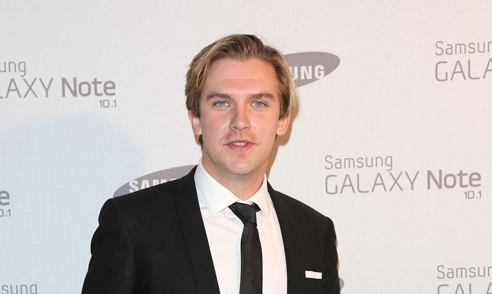 El actor Dan Stevens