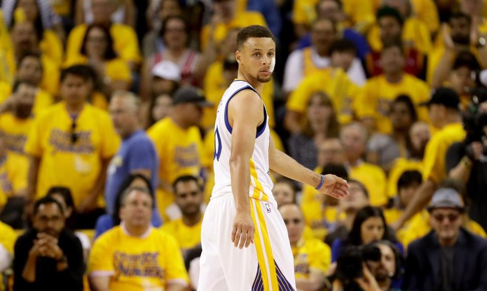 Stephen Curry fue el líder de Golden States la pasada temporada de NBA.