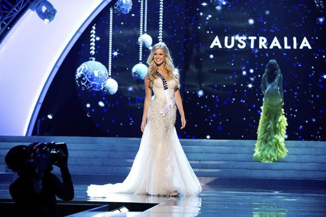 Miss Australia, Renae Ayris. EFE / END