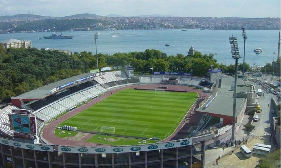 Estadio del Besiktas JK en Estambul.