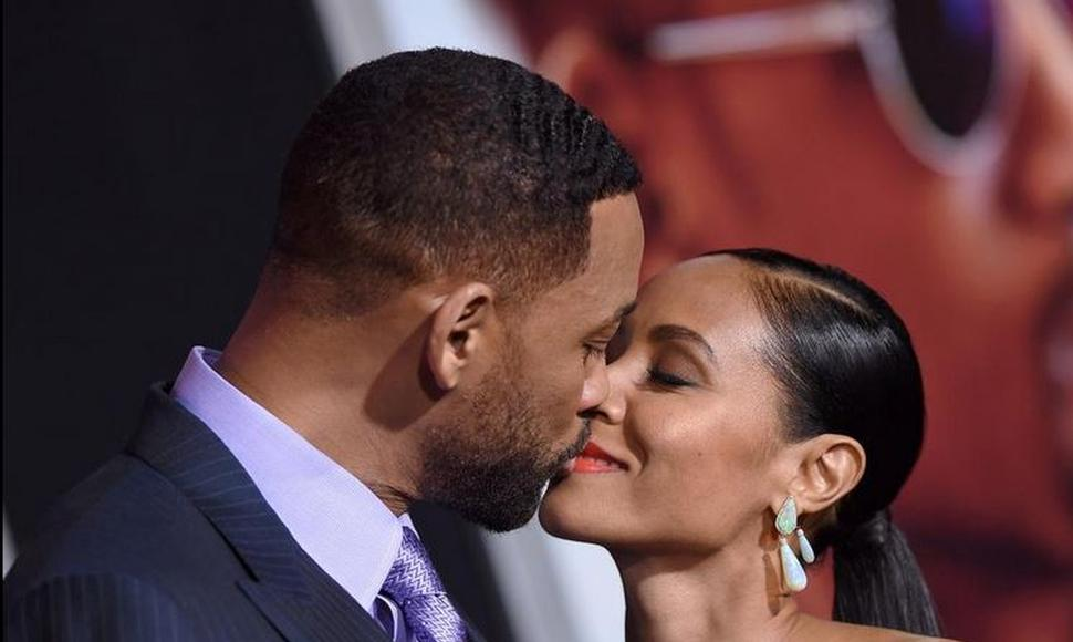 Will Smith junto a su esposa